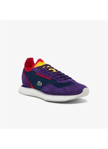 Lacoste Lacoste Match Break 0121 3 Sfa Kadın Lacivert - Mor Sneaker Lacivert